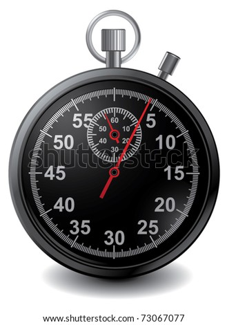 Vector stopwatch in
