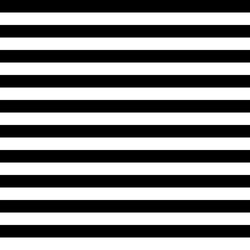 Vector Striped Seamless Pattern. Black and white background