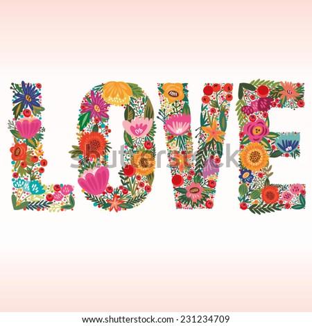 vector stylish floral card