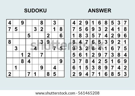 Free Sudoku Vector Download Free Vector Art Stock Graphics Images