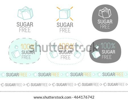 vector sugar free set