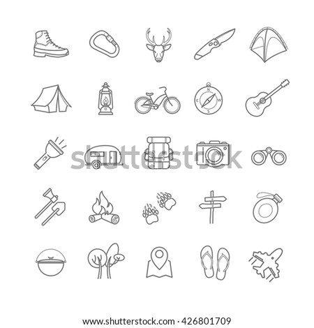 398712670 Shutterstock Set Of 20 Travel Icons On A White additionally Funny Technology also Outdoor Sports Fishing Gear besides Preparedness further Adjustable Steel Stumps House. on best hiking survival kit