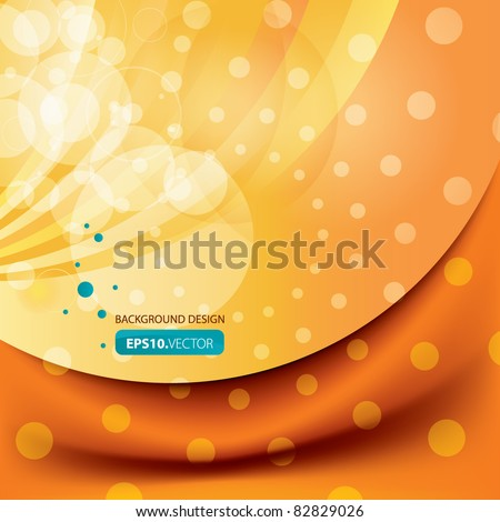 Vector summer end background design