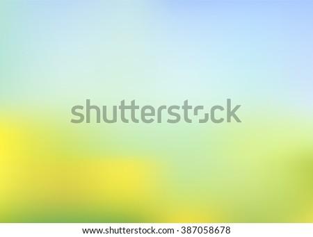 vector sunny blur summer