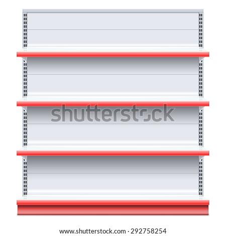 Vector Supermarket Shelf