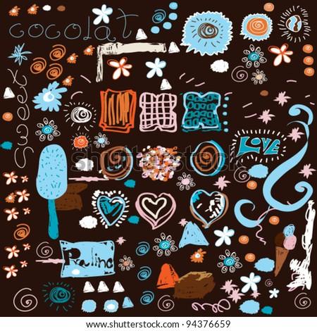 vector sweet background