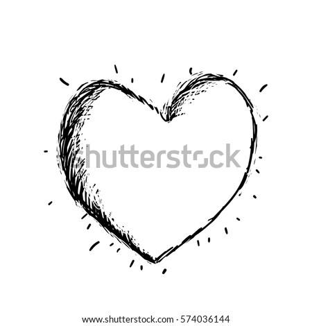 vector sweet heart art