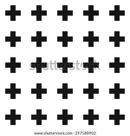vector swiss cross pattern
