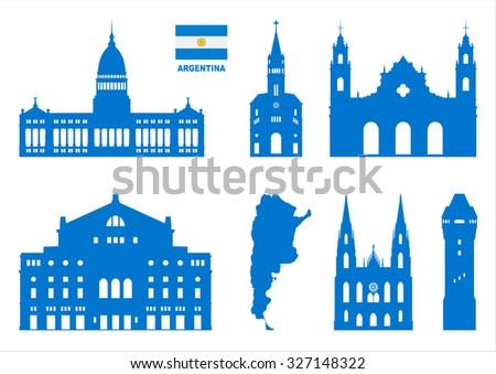 vector symbols of argentina