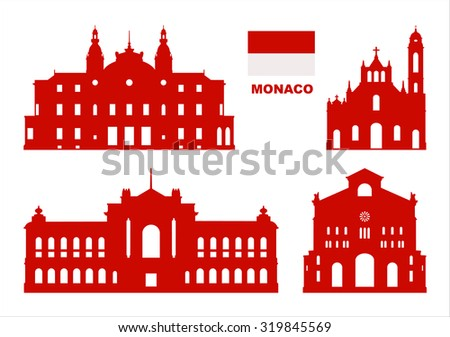 vector symbols of monaco