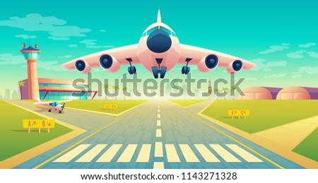 vector takeoff of the plane on