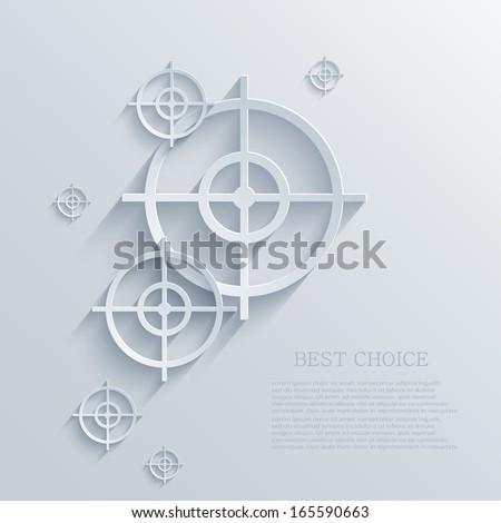 vector target background eps10