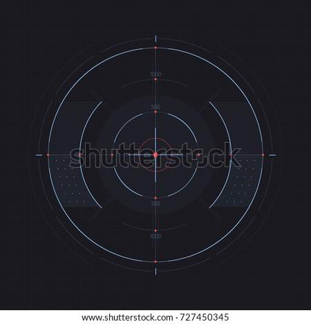 vector target display