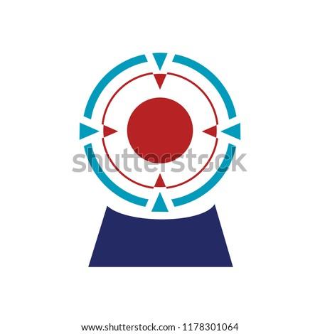 vector target illustration icon