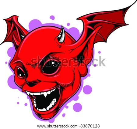 vector tattoo devil