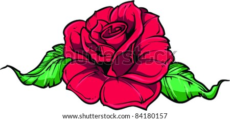Vector Tattoo Rose