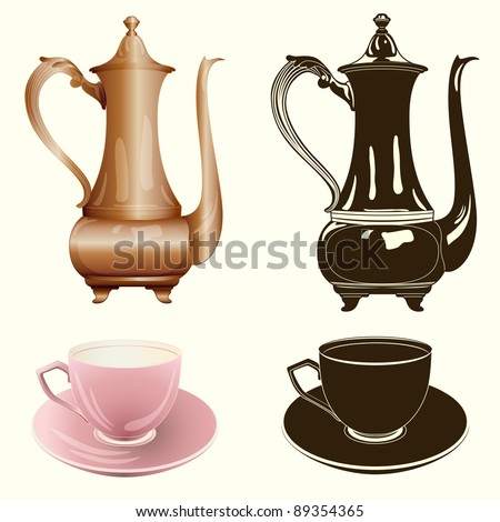 Tea cup free vector download 1339 Free vector for