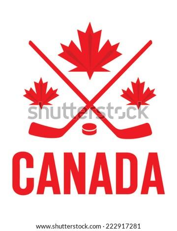 vector team canada hockey
