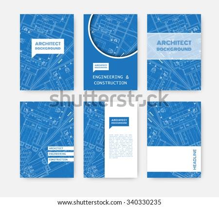 Blueprint vector elements download free vector art stock graphics vector technical blueprint of mechanism engineer illustration set of corporate identity templates vector malvernweather Images