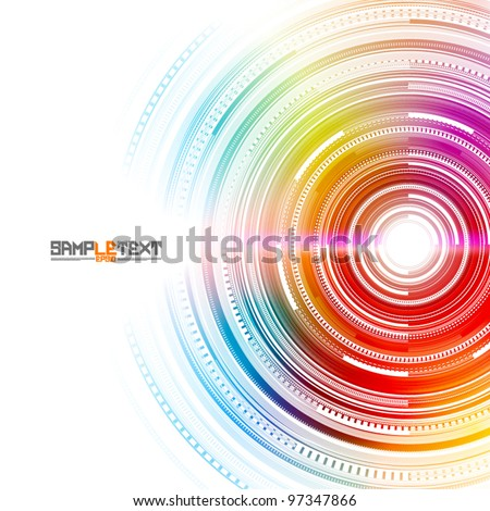 Vector Technology Background Design