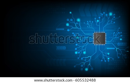 vector technology computer concept background