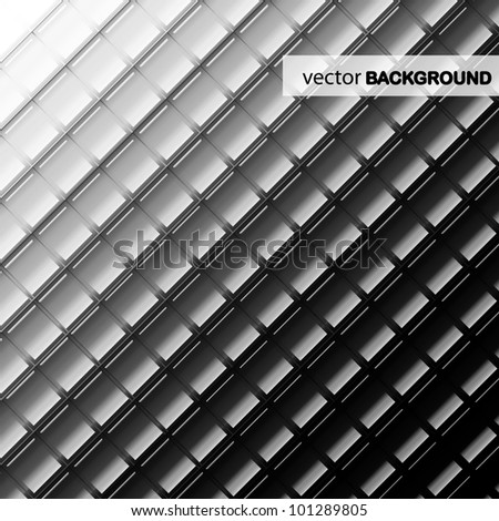 Vector technology tile background