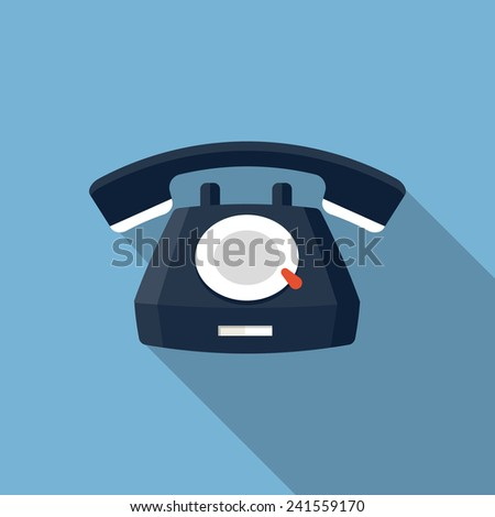 vector telephone icon