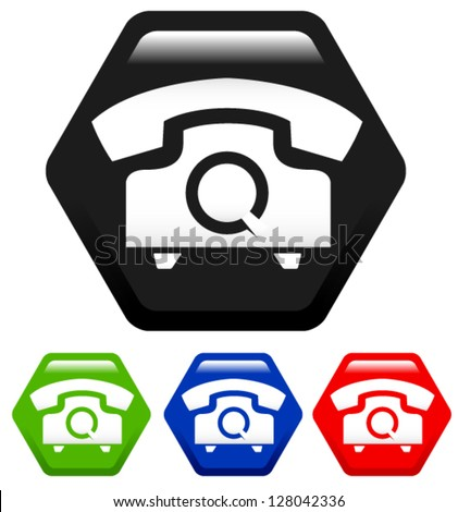 vector telephone icons