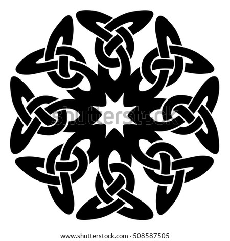 vector template celtic knot for