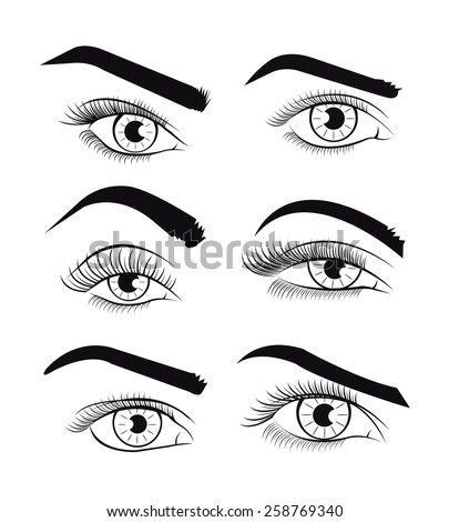 vector images illustrations and cliparts vector template eyes