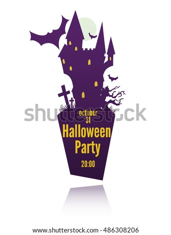 vector template for halloween