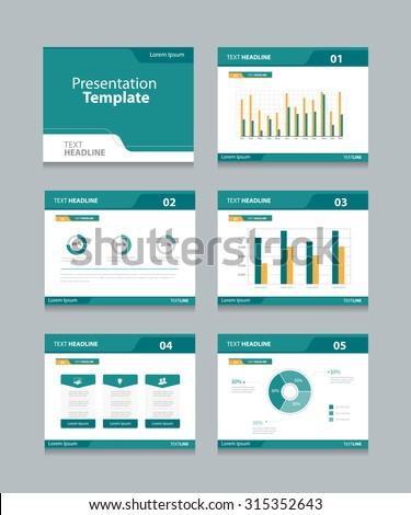 royalty free vector template presentation slides 314816726 stock