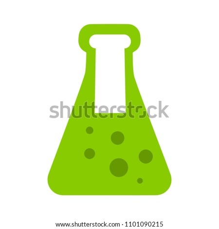 vector test lab illustration, medical science laboratory tube