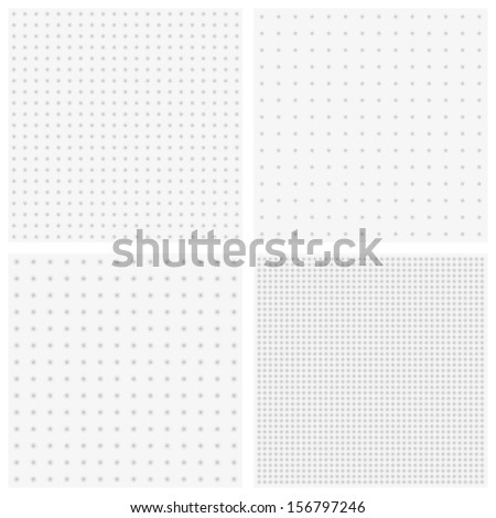 Vector texture of blurred gray dots