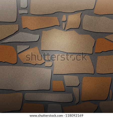 Vector Textured stone background