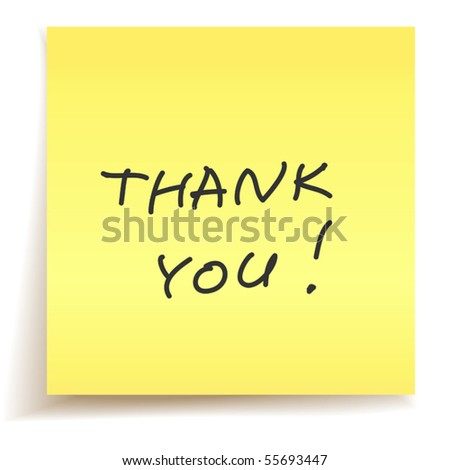 Thank younote for salary increase || thank younote for baby shower in ...
