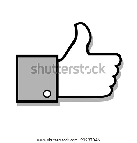 Vector thumb up