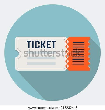 tea party ticket design template