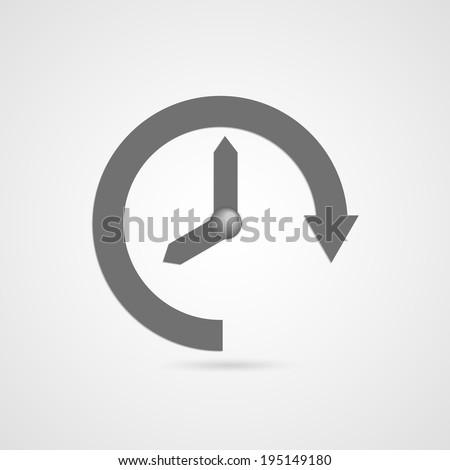 vector time icon