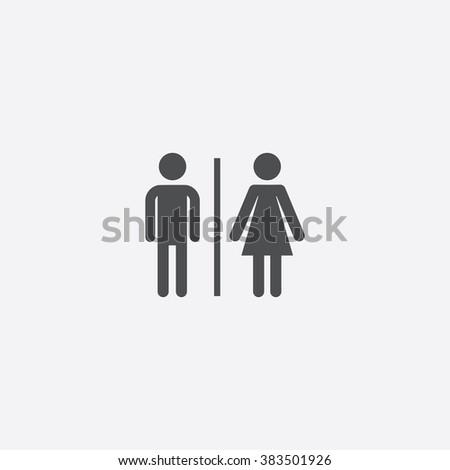 Vector toilet Icon