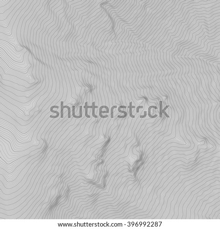 vector topography on grey