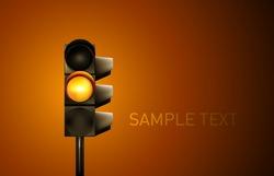 Vector Traffic Lamp Illustration