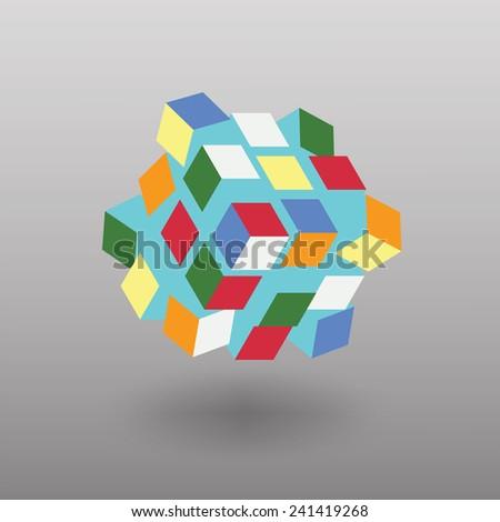 vector transformer cube similar