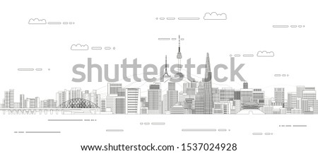 vector travel background poster
