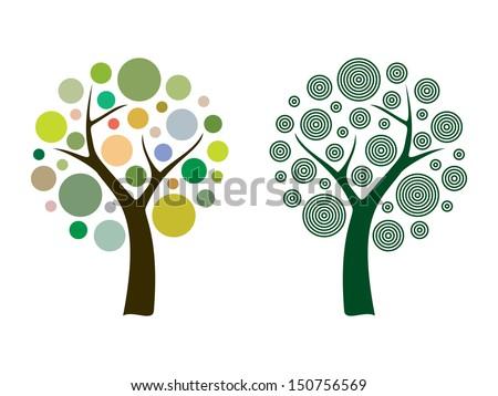 vector tree 15