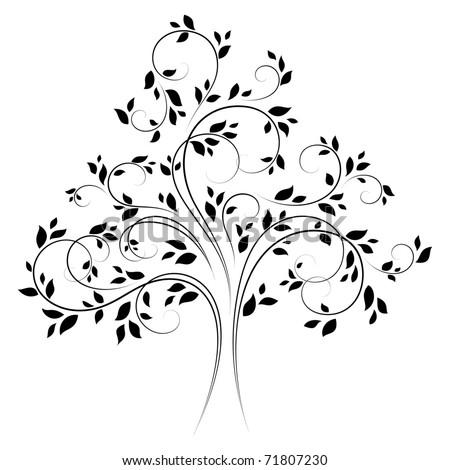 vector tree 4