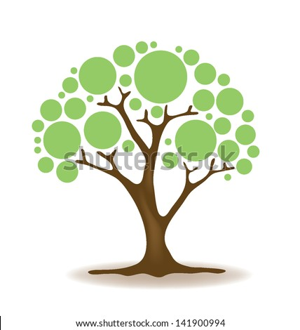 Stock Vector Vector Tree Illustration