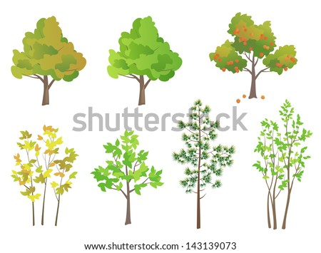 stock-vector-vector-trees-design-elements