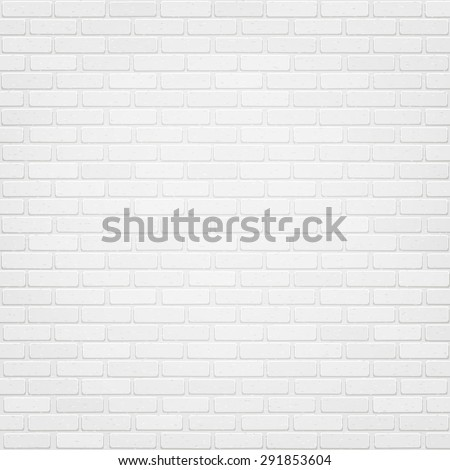 vector trendy white brick wall
