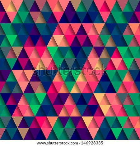 vector triangle pattern